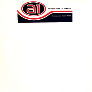 "A1 - Be The First To Believe (Mixes) (12"") (Promo) (G+/G+)"